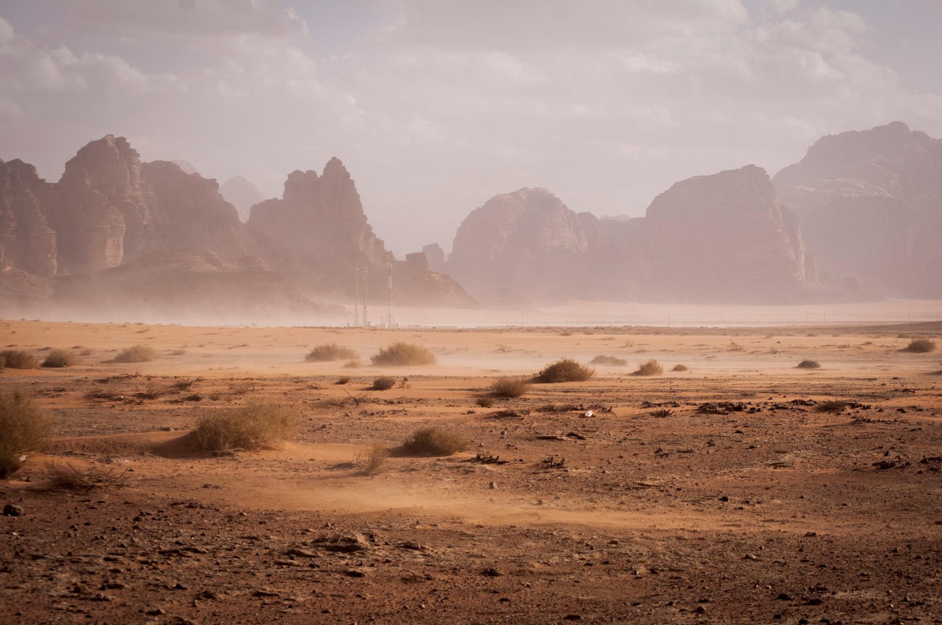 中国の砂漠化