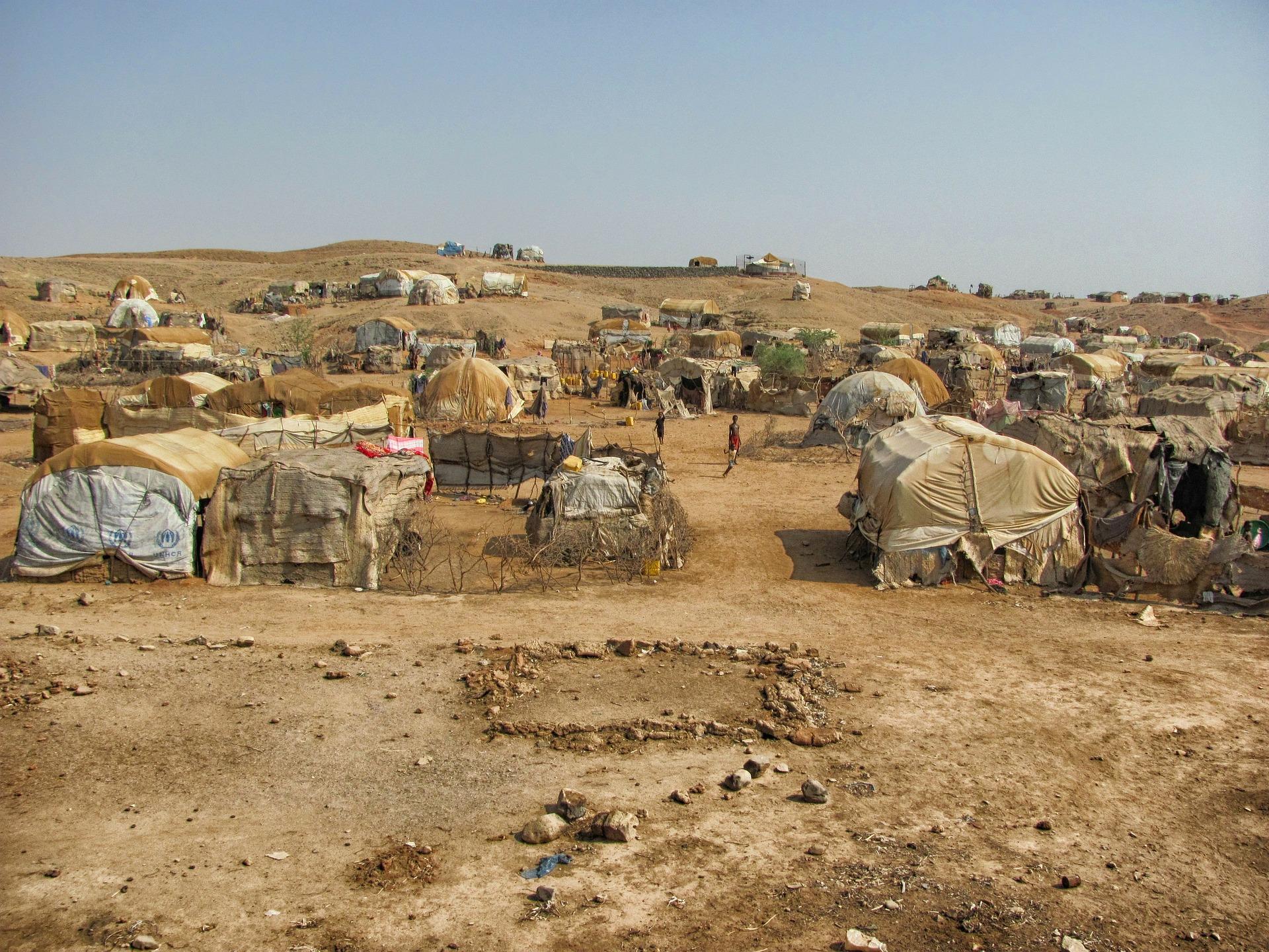 世界各地の難民問題