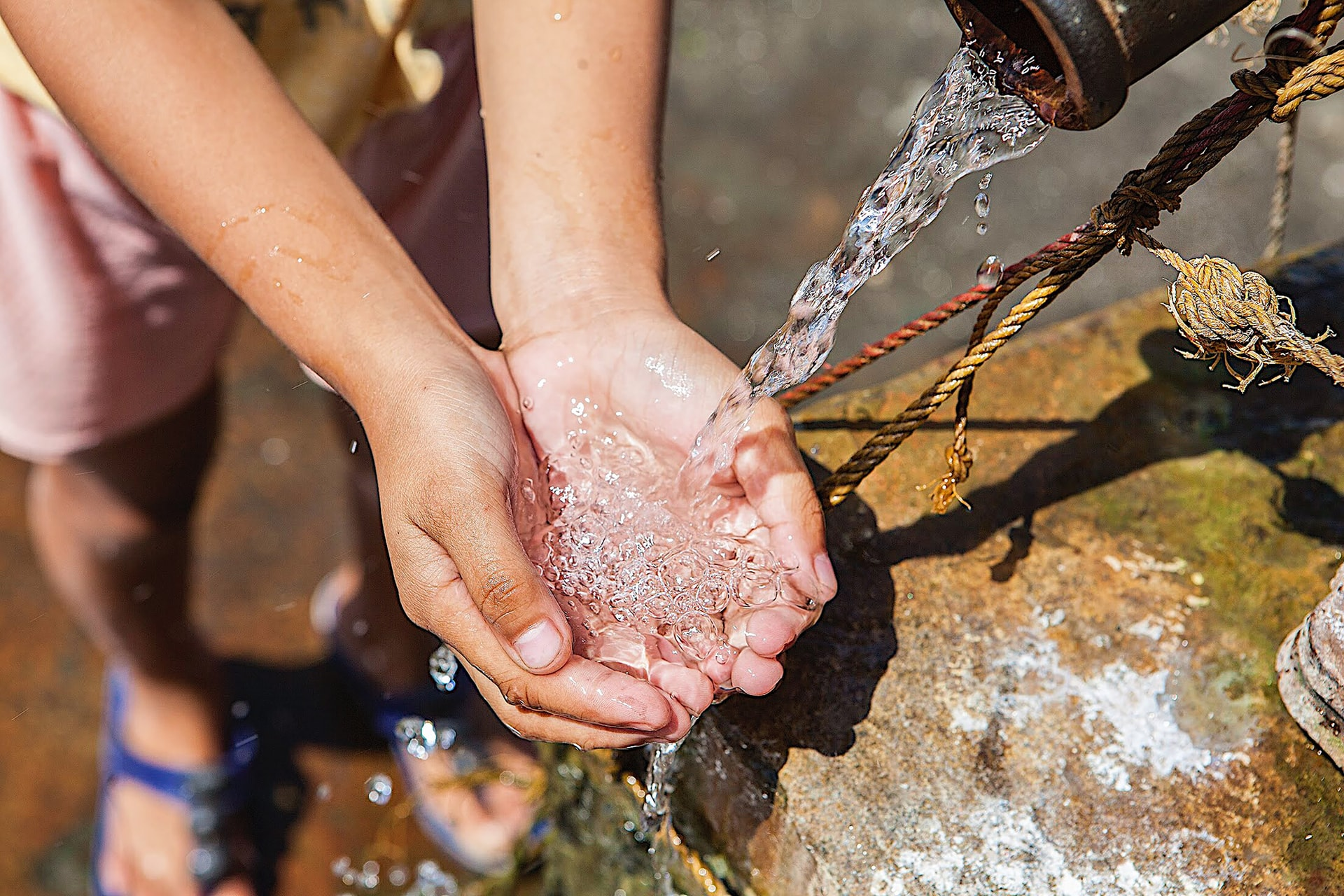水衛生問題に対して 私たちに出来る方法で解決を目指そう